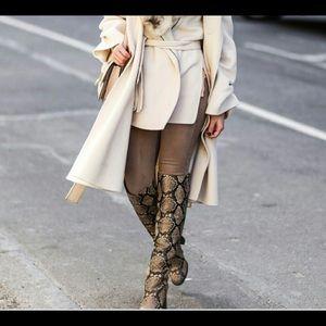 Sam Edelman Snake Boots *Genuine Leather*